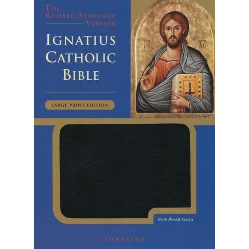 Ignatius Bible Rsv Large Type Edition The Catholic Company