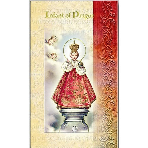 Infant of Prague (Novena) - Folded Prayer Card