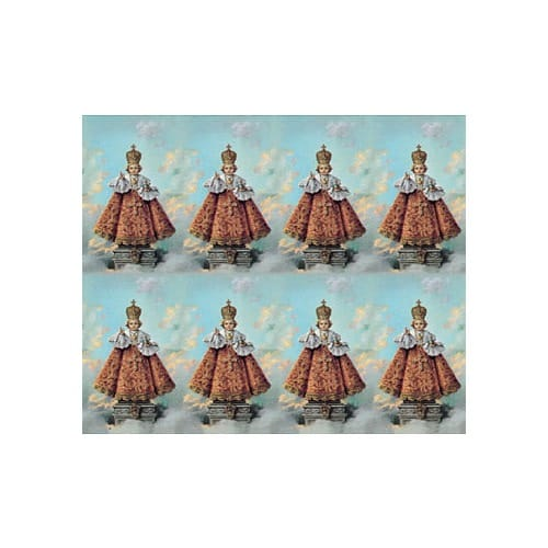 Infant of Prague Personalized Prayer Card (Priced Per Card)