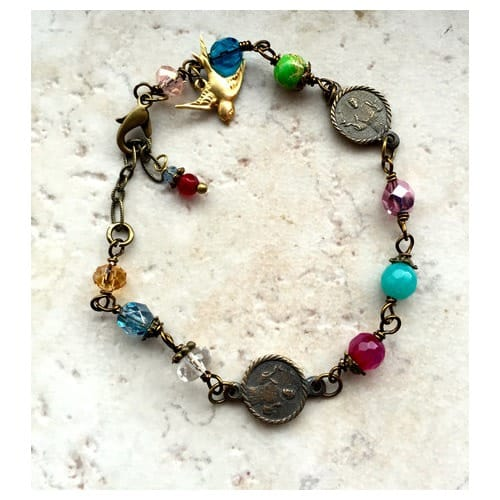 Instrument Of Peace St Francis Bracelet