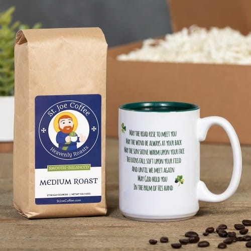 Irish Blessing Coffee Gift Box