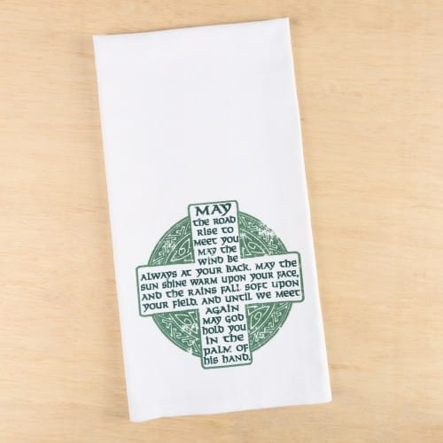 Irish Blessing Kitchen Essentials Dish Towel
