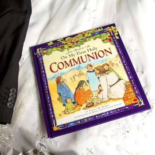 Jesus speaks to me on my first holy communion the catholic company