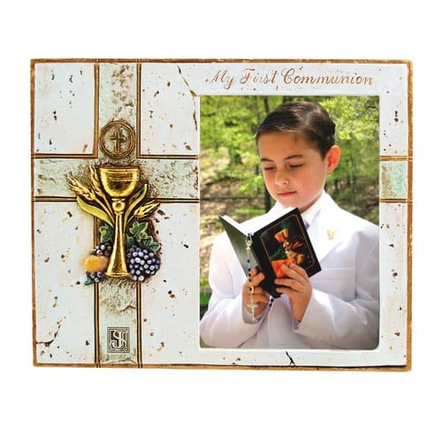 Joseph's Studio First Communion Photo Frame - 6 inch