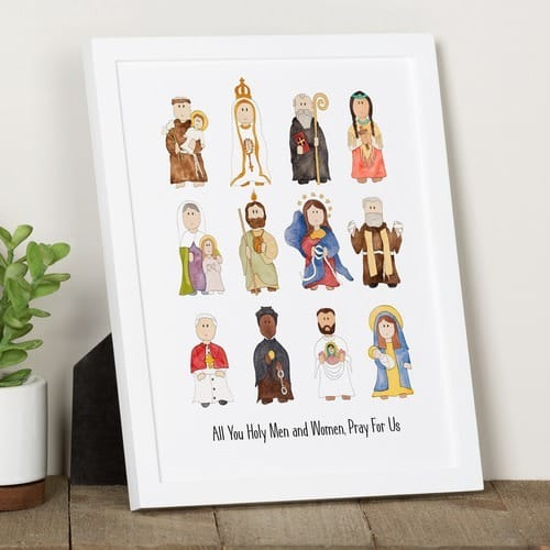 Junior Saints Litany of Saints Print B