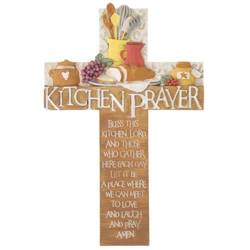Kitchen Prayer Cross