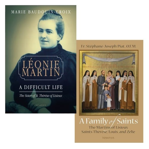 Leonie Martin: A Difficult Life & A Family of Saints (2 Book Set)