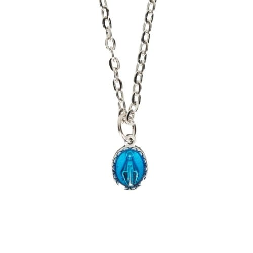 Miraculous Medal Blue Enamel (Small)
