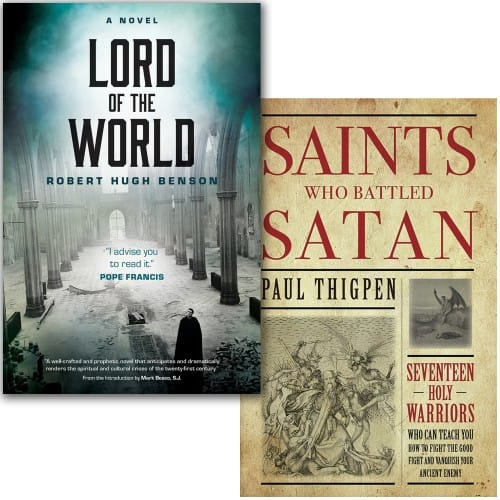Lord of the World & Saints Who Battled Satan (2 Book Set)
