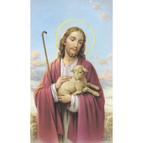 The Lost Lamb Personalized Prayer Card (Priced Per Card)