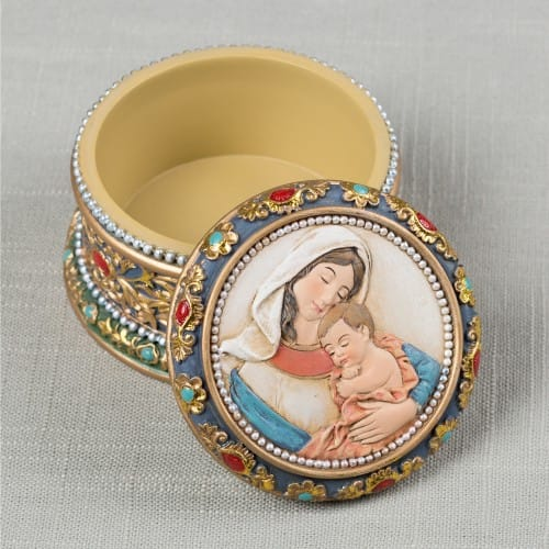 Madonna & Child Keepsake Box