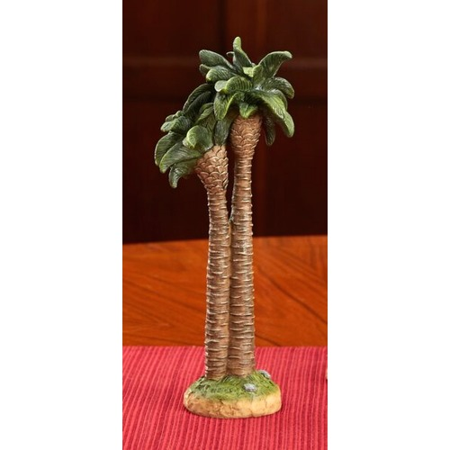 Madonna and Child White/Blue Della Robbia Plaque - 5 inches
