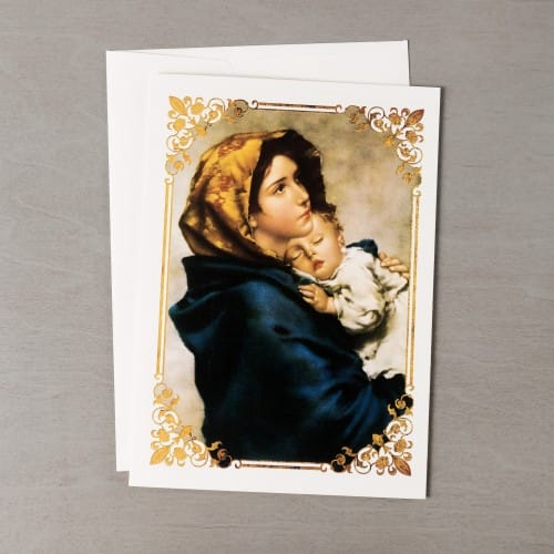 madonna of the streets christmas cards set of 20