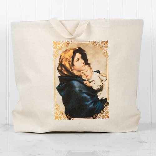 Madonna of the Streets Tote