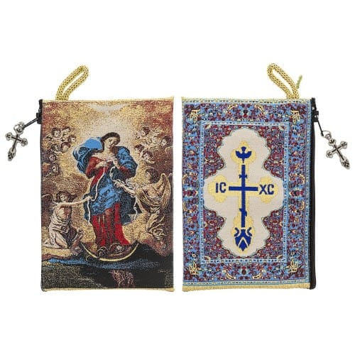 Mary Undoer of Knots Rosary Case