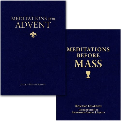 Meditations for Advent & Meditations Before Mass (2 Book Set)