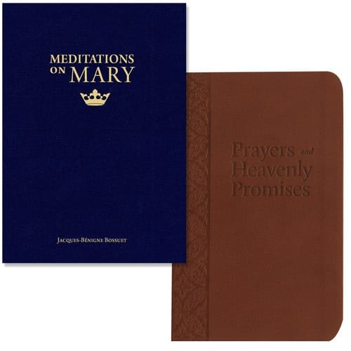 Meditations On Mary & Prayers and Heavenly Promises (2 Book Set)