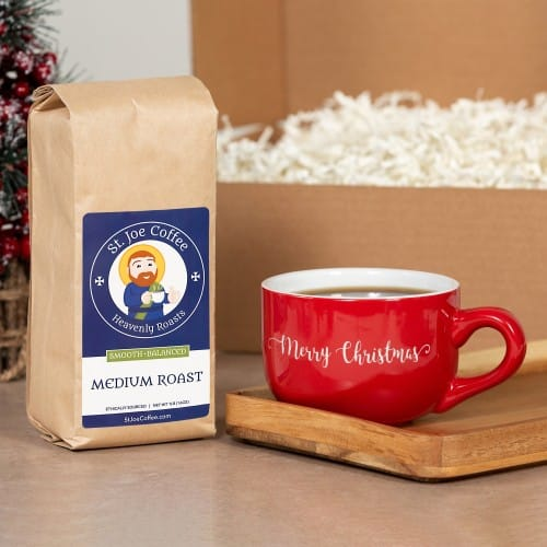 Merry Christmas Coffee Gift Box