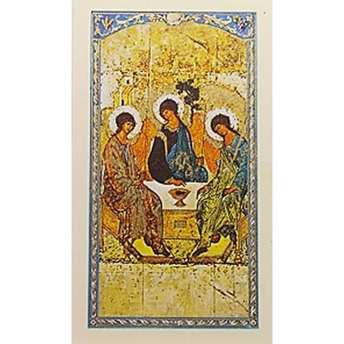Most Holy Trinity - Prayer Card