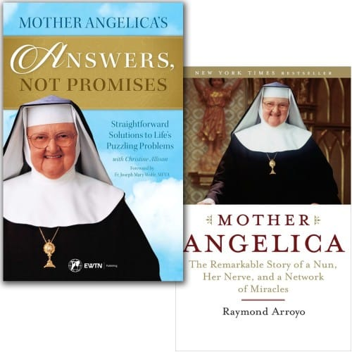 Mother Angelica's Answers, Not Promises & Mother Angelica: Story Of a Nun (2 Book Set)