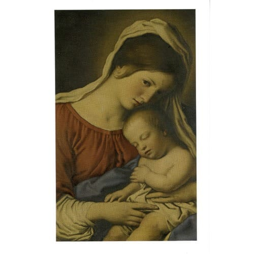 Mother's Prayer Card - Pkg. of 50