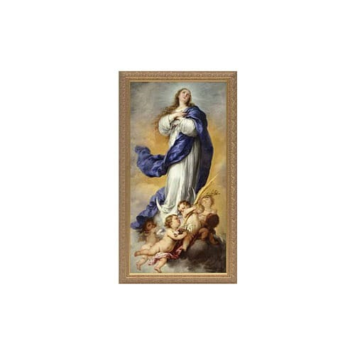 Murillo's The Immaculate Conception of Aranjuez w/ Gold Frame