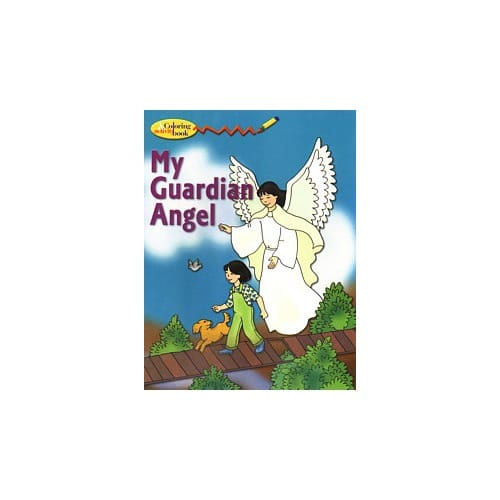 my guardian angel coloring book the catholic company