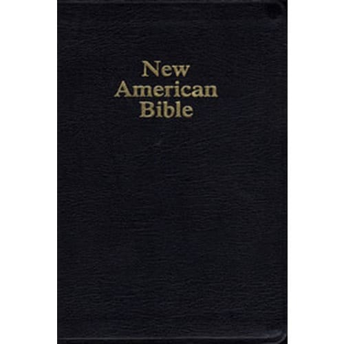 NAB Deluxe Gift and Award Bible - Black Bonded Leather