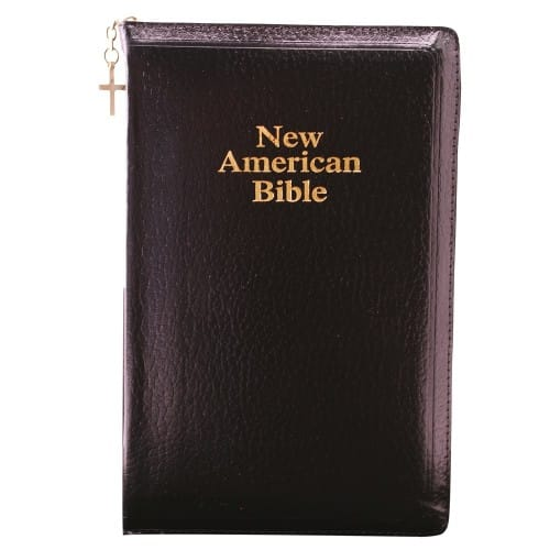NAB Deluxe Gift and Award Bible - Zipper Close