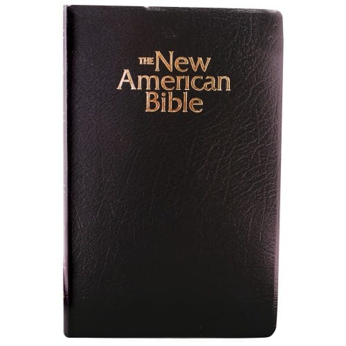 NAB Revised Edition Gift Bible - Black Imitation Leather