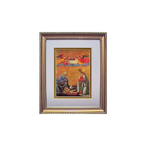 Nativity Framed Print (8x10)
