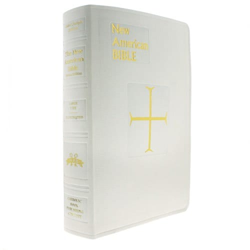 New American Bible-Saint Joseph Edition - White (Large Type)