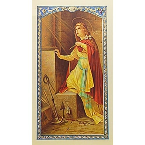 Novena to St. Philomena - Prayer Card