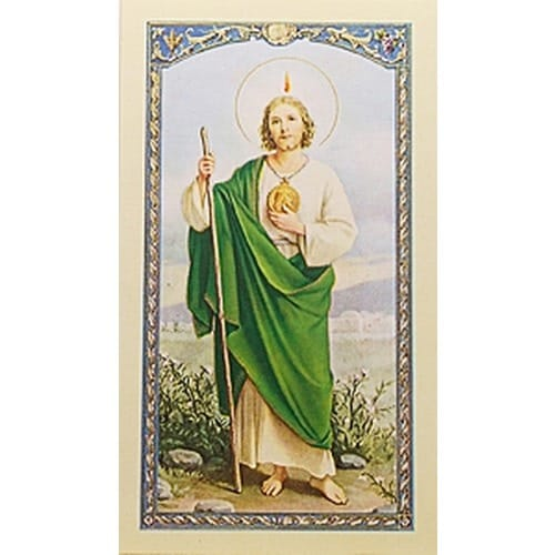 Oración a San Judas Tadeo (St. Jude) – Spanish Prayer Card