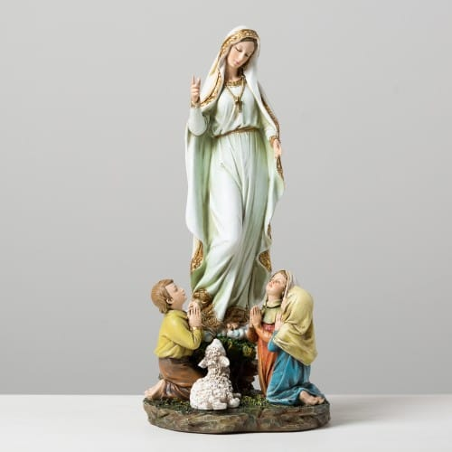 Our Lady of Fatima Figure - 12 inches