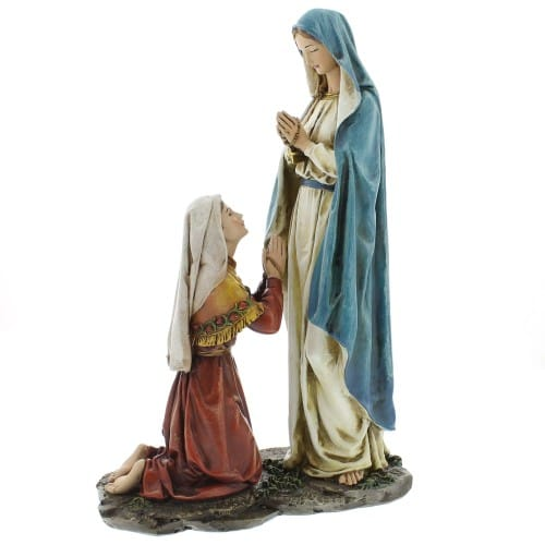 Our Lady of Lourdes Statue - 10 inch