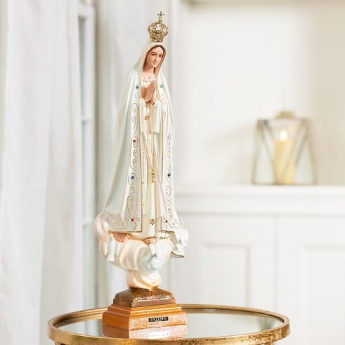 Our Lady Of Fatima 20 Quot Statue The Catholic Company