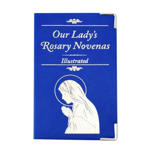 picture about 54 Day Rosary Novena Printable titled Our Ladys Rosary Novenas