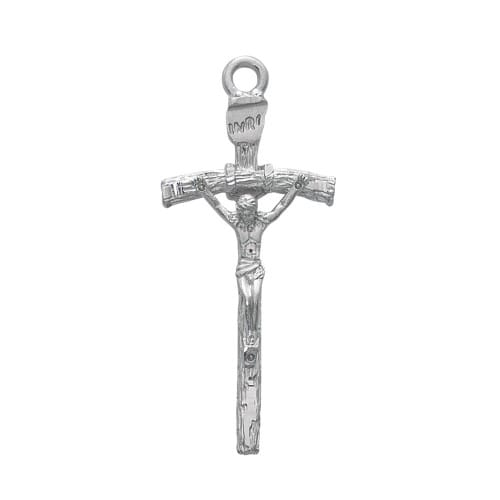 Papal Crucifix with 24 inch Chain