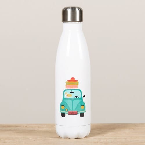 Personalized God Vibes Only Water Bottle