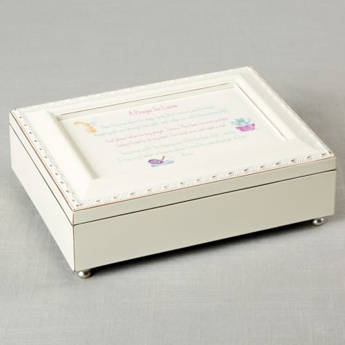Personalized Good Night Prayer Music Box - Girl