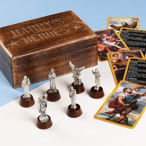 Personalized Heroes Box of Saints