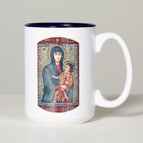 Personalized Mary Mother of the Church Mug