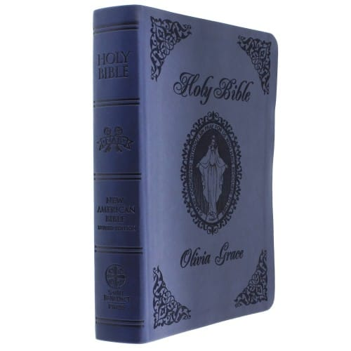 Personalized Miraculous Medal Bibles