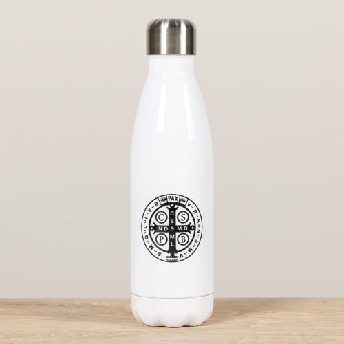 Personalized Saint Benedict Water Bottle
