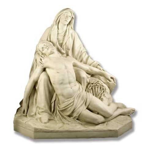 pieta de da prato lifesize statue the catholic company