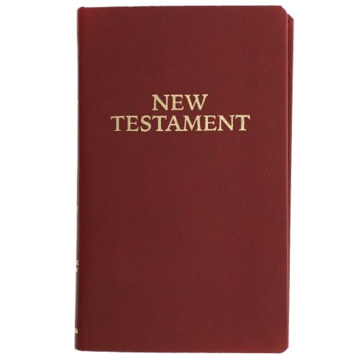 Pocket New Testament RSV (Burgundy)