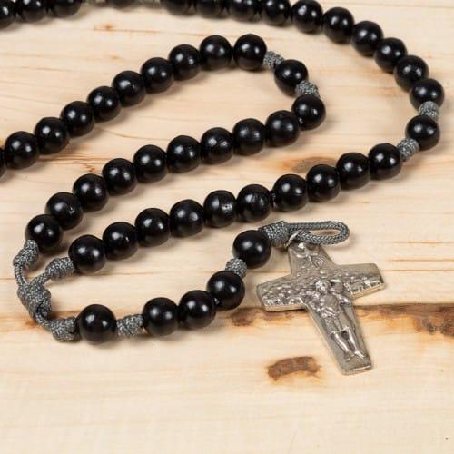 Fantastic Pope Francis Good Shepherd Paracord Rosary | The Catholic Company UQ65