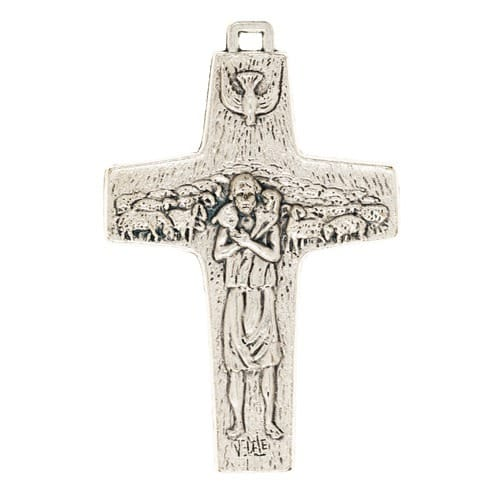 Pope francis pectoral cross 3 inch the catholic company pope francis pectoral cross 3 inch mozeypictures Gallery