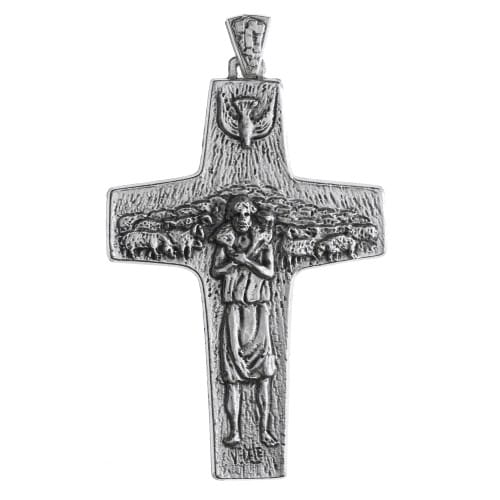 Pope francis pectoral cross 4 inch the catholic company pope francis pectoral cross 4 inch mozeypictures Gallery